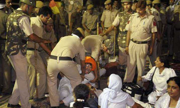 police tells court ramdev did not incite communal enmity