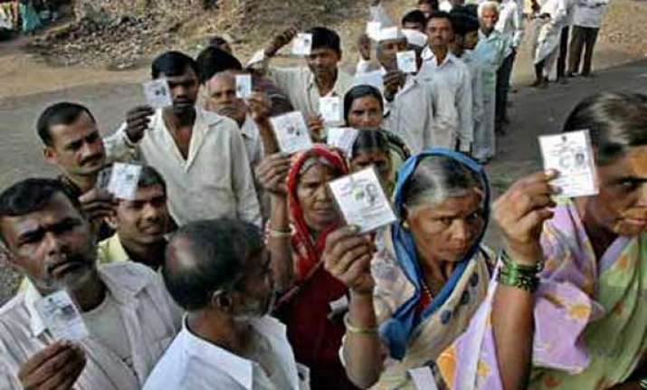 25.18 per cent polling recorded in up till 11 am