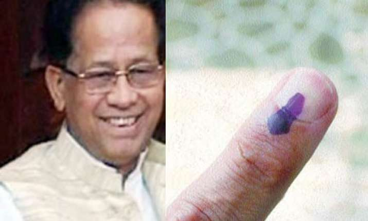 75 per cent turnout in assam first phase poll