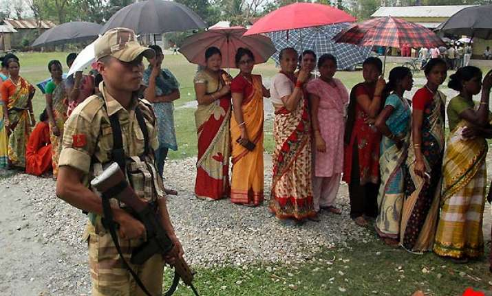 81 pc polling in fifth phase in bengal