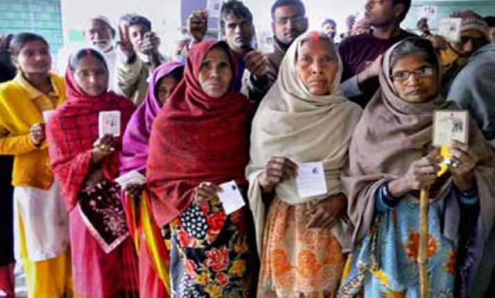 59 per cent voter turnout in fifth phase of up polls