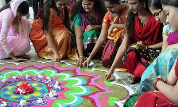 pongal celebrated with traditional fervour