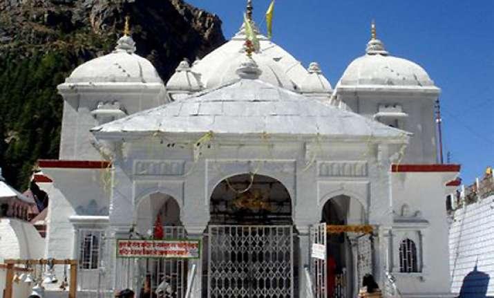 portals of gangotri closed for winter