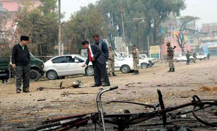 powerful bomb explodes in interior manipur district