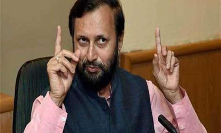 prakash javadekar promises fast clearances to