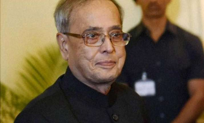 pranab mukherjee s two day west bengal visit begins today