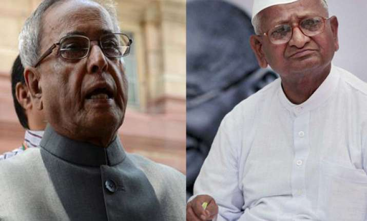 pranab better than other upa ministers says anna hazare