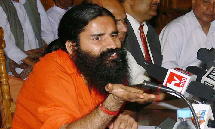 prashant bhushan should be booked for kashmir remarks ramdev