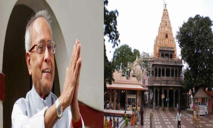 president pranab mukherjee to pay obeisance at
