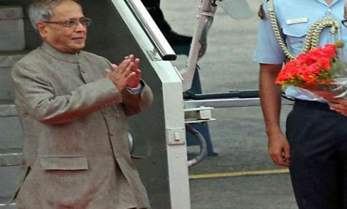 president returns home after belgium turkey visit