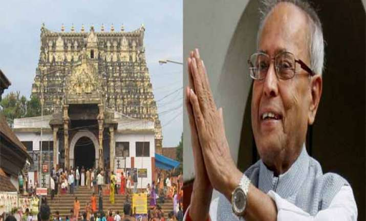 president to worship at padmanabhaswamy temple on july 19