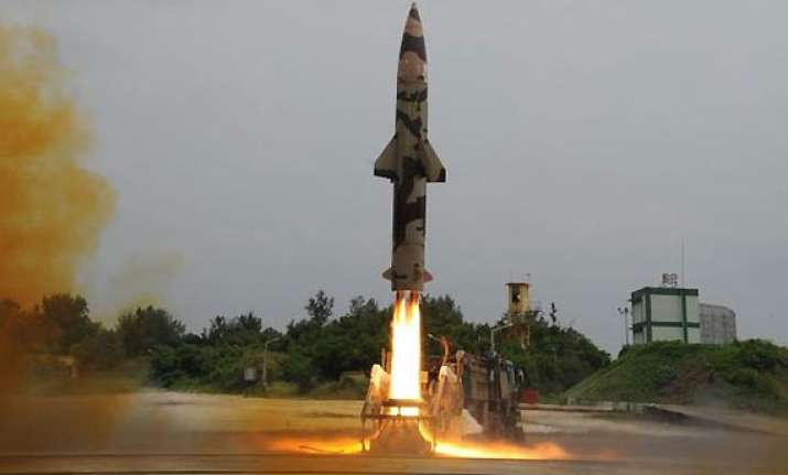 nuclear capable prithvi ii missile test fired from odisha