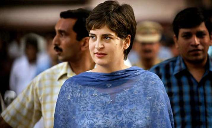 priyanka gandhi on stock taking mission in rae bareilly