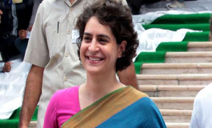 priyanka gandhi to continue campaigning in amethi