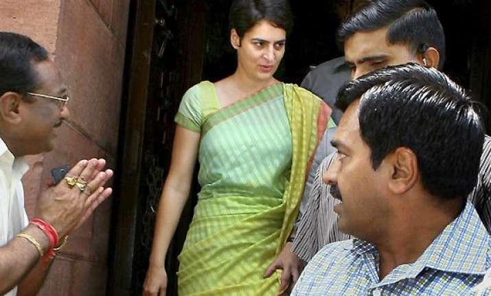 priyanka gandhi likely to campaign in rae bareli amethi
