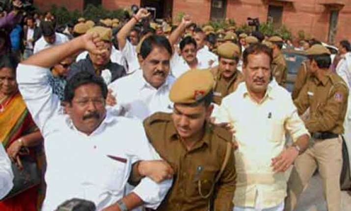 pro anti telangana congress mlas to stage sit in today