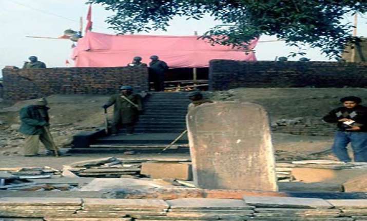 prohibitory orders in ayodhya up govt bans vhp s chaurasi