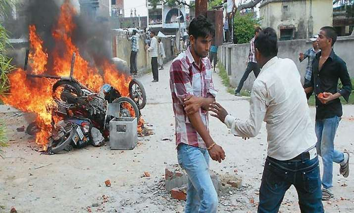 prohibitory orders imposed in violence hit up village