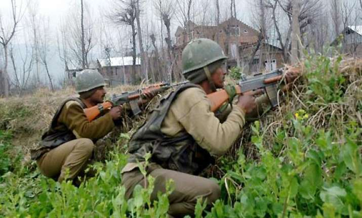 pulwama encounter enters second day