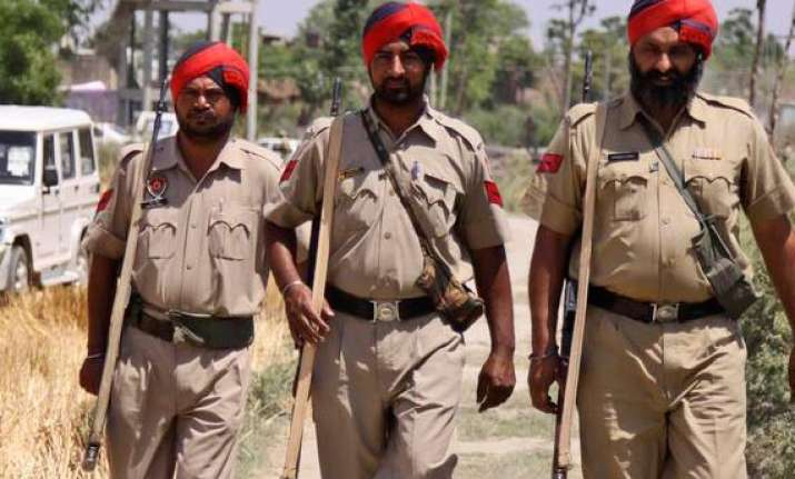 punjab police officer suspended for misusing personnel
