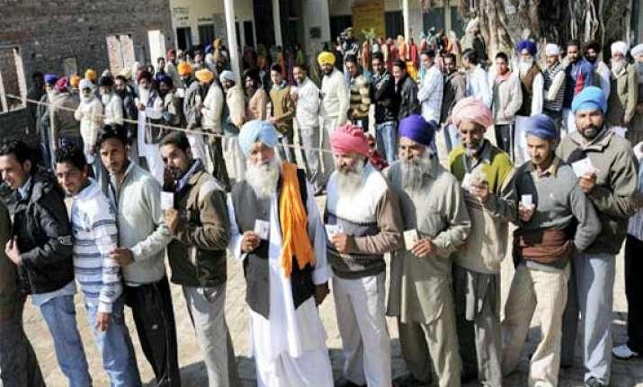 punjab votes wednesday all eyes on amritsar seat