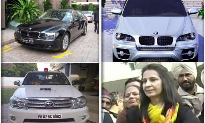 punjab candidates possess india s top end suvs
