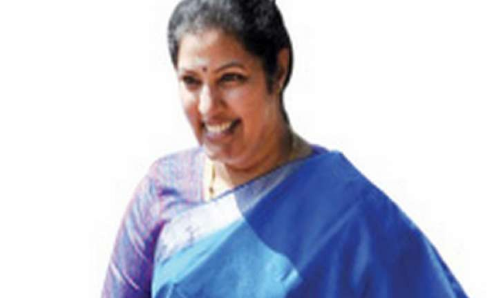 purandeswari s resignation accepted