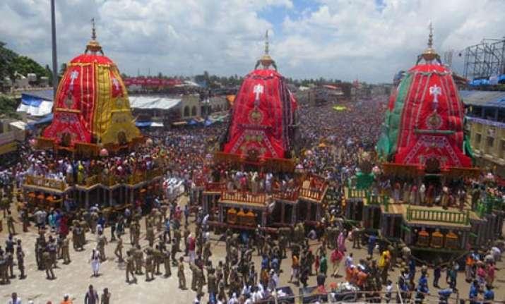 puri rath yatra temple to ban chariot climbing touching idol