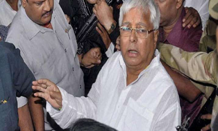 fodder scam lalu to be in jail for five years ceases to be