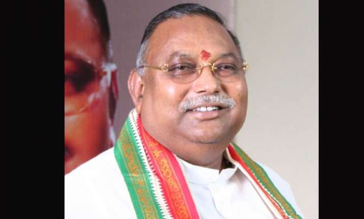 r s rao resigns from congress following telangana decision