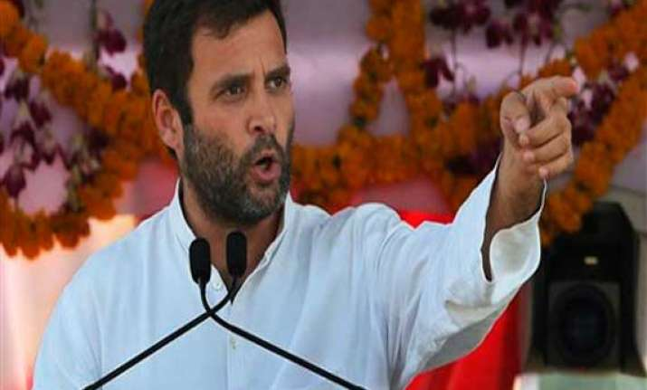 rss complains against rahul for linking it with gandhi