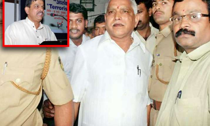 rss says it has been embarrassed by yeddyurappa
