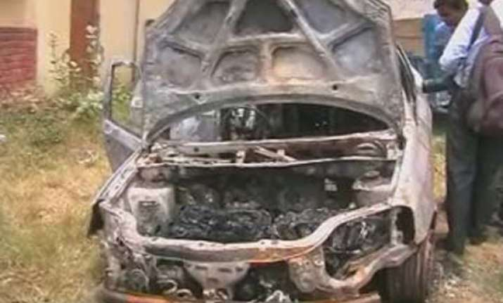 rti activist chandra mohan sharma found dead in his car in