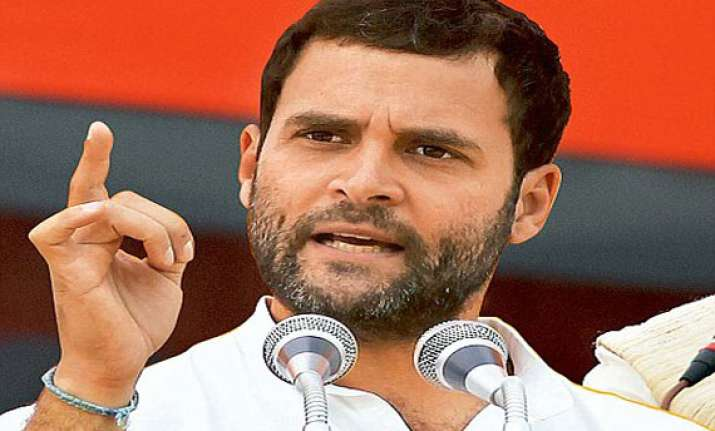 rahul gandhi assures justice to seemandhra