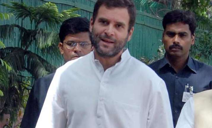 rahul gandhi visits amethi thanks people for support in