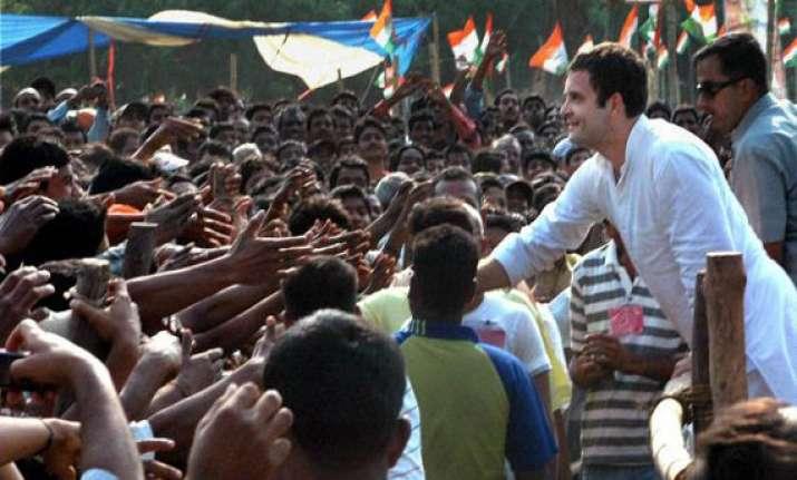 rahul calls up slain bengal congress worker s brother