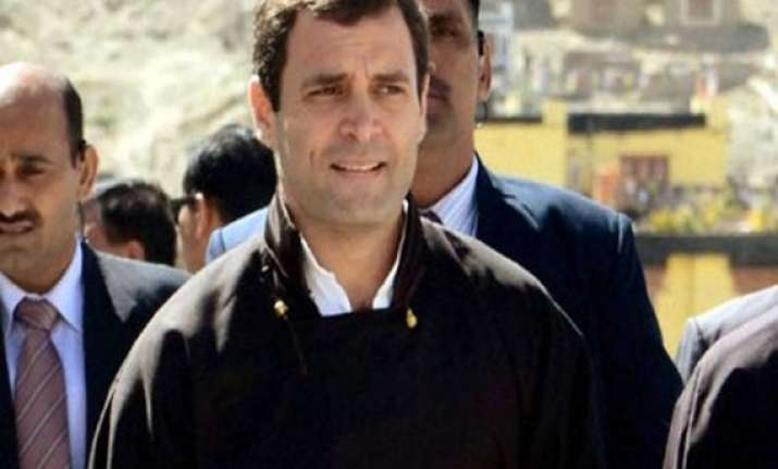 rahul did not flout any norm during uttarakhand visit