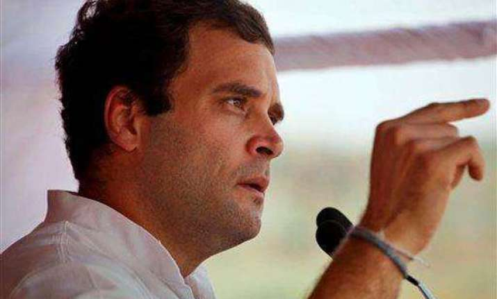 rahul gandhi promises to change up s fortunes in five years