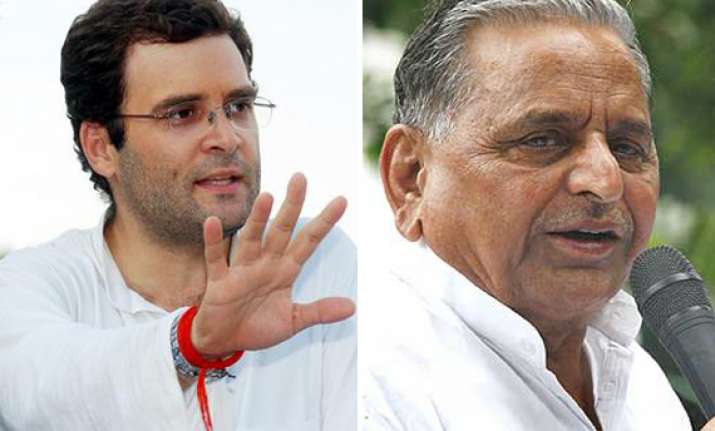 rahul gandhi questions mulayam on muslim quota