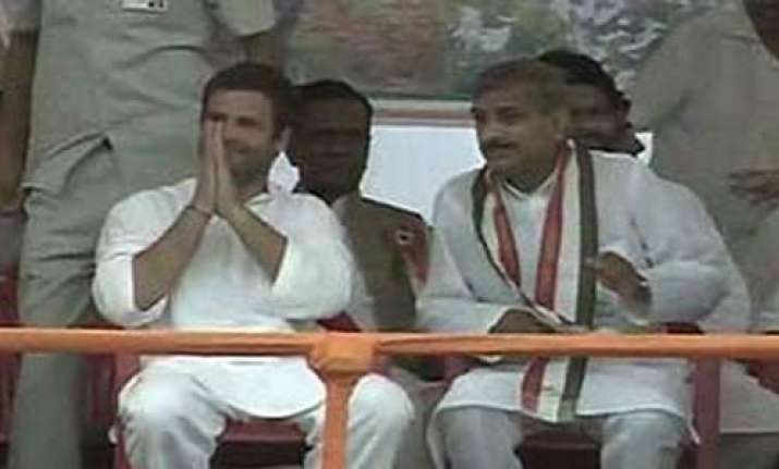 rahul takes on mayawati says padyatra not a drama