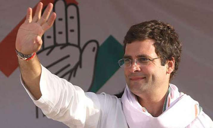 rahul to kickstart congress campaign on monday