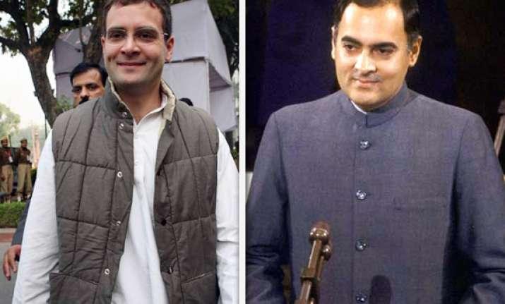 rahul s idea fails like rajiv s panchayati raj bill