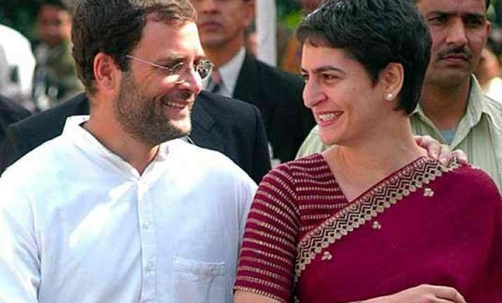 rahul s politics not aimed at becoming pm says priyanka