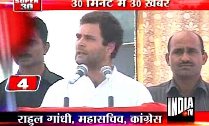 rahul s beg remarks sp cong workers clash in his presence