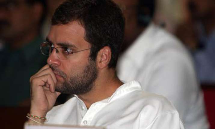 rahul undertakes first visit of up after poll debacle