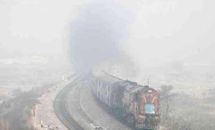 railway helpline for fog affected train passengers