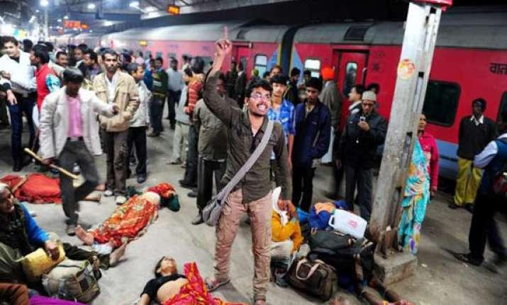 railways seeks to blame kumbh stampede squarely on local