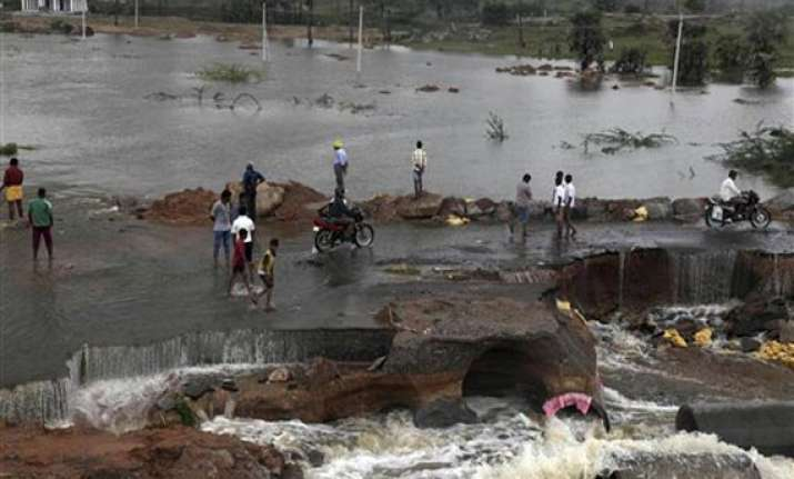 rains and floods ravage andhra pradesh odisha 51 dead