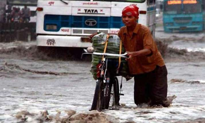 rains lash up several rivers flowing close to danger mark