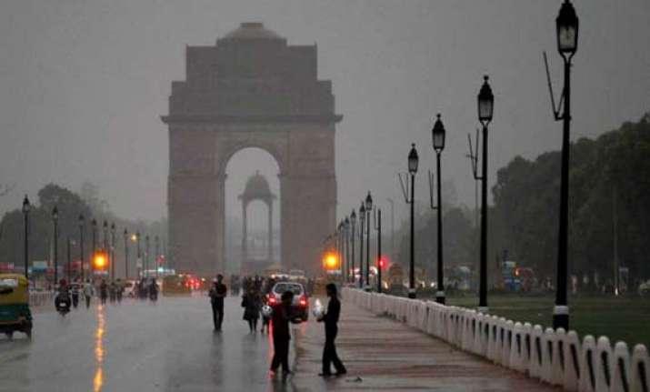 rains likely in delhi thursday